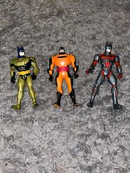 1998 DC Comics Batman Toy Action Figure Kenner Lot Of 3 $17.50