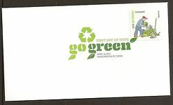 US 4524g Go Green Compost DCP FDC 2011 $9.20