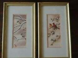 Vintage Anton Wang Art Ltd. Ed. Birds Signed and numbered $54.99