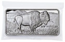 Highland Mint Buffalo 10 oz Silver Bar GEM BU Delay SKU59371 $328.79