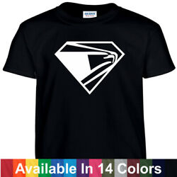 USPS Superman Style T Shirt Tee Post Office T-shirt Super Postal Worker $9.99