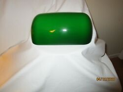 Green Glass Bankers Lamp Shade $15.00