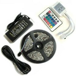 Bright 12V 5M 16.4ft 5050 RGB Waterproof SMD 300 LED Flexible Strip light USA $9.99