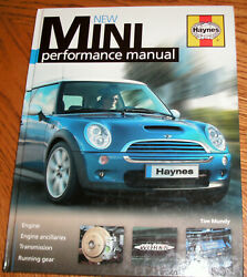 New Mini Performance Manual by Haynes Hard Cover Mint Cond..Free Ship $24.44