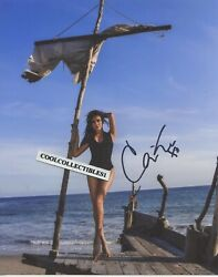 CASSIE SCERBO of SHARKNADO IN PERSON SIGNED 8X10 COLOR PHOTO 4 C0A $15.00