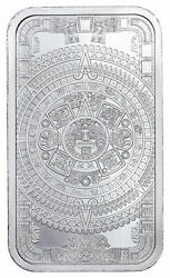 Golden State Mint Aztec Calendar 1 oz Silver Bar BU SKU60711 $46.13