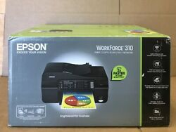 EPSON WorkForce 310 All-In-One Color Inkjet Printer: PRINTCOPYSCANFAXNETWORK $270.00