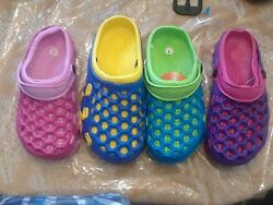 NEW girls beach sandals clogs water proof slip on $10.99