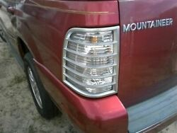 Driver Tail Light Quarter Panel Mounted Fits 06-10 MOUNTAINEER 340474
