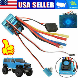 120A Brushless ESC Electric Speed Controller RC Accessory for 1/10 1/8 RC Car US $18.97