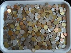 Old Mixed World Coin Collection Bulk Estate Exchange? 5 POUNDS Treasure Lot? $47.95