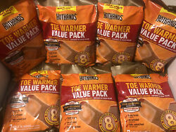 2 Value Packs 28 Total Warmers HotHands Hot Hands Toe Warmers  $11.50