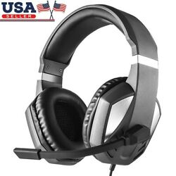 3.5mm Wired Gaming Headset HiFi Stereo Headphone with Mic for PC Laptop PS4 - US $18.99