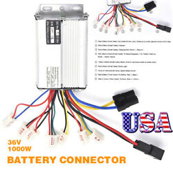 36V 1000W Electric Scooter Bicycle E-bike Brush Speed Motor Controller Box US $22.79