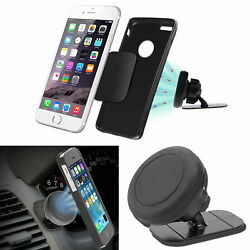 Universal Magnetic Car Mount Stick On Dashboard Holder Cradle For Phone GPS 360° $7.48