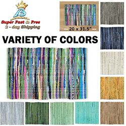 Reversible Floor Rug Contemporary Home Room Mat Area Rugs Kitchen Carpet Rag NEW $21.65