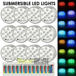 Swimming Pool Light LED Underwater Remote RGB Control Multi Color Fountain Light $15.77