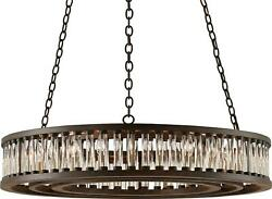 HOSPITALITY MUST-HAVES ELIXIR CHANDELIER CURREY & COMPANY ROUND VIALS V