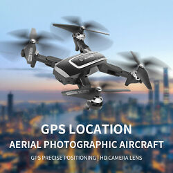 RC Foldable Quadcopter GPS Positioning WIFI FPV 2.4G 1080P 5G 4K HD Camera Drone $82.75