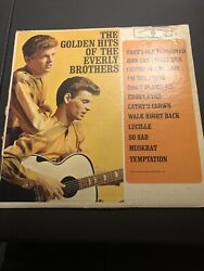 The Golden Hits Of The Everly Brothers Record Vinyl Warner Brothers $4.99