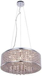 AMELIE PENDANT CONTEMPORARY 8 LIGHT ADJUSTABLE HANGING HEIGHT CHROME R $709.00