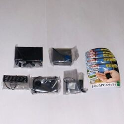 Miniature PC amp; Supply Mascot Figure set of 5 Gashapon Toy Official Gift $54.98