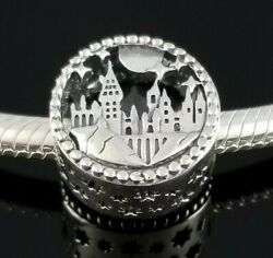 Authentic Pandora HARRY POTTER Hogwarts School Of Witchcraft Wizardry Charm New $26.99