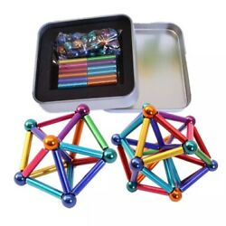 Buy 1 Get 1 Free Hot Selling Educational Magnetic Steel Blocks Construction Sets $30.00