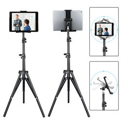 Foldable Height Floor Tablet Tripod Stand Mount Adjustable for iPad Mobile Phone $25.97