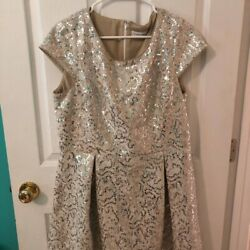 NWT Calvin Klein Dress 20W Party Wedding Fancy New Years Cocktail Plus Size $51.00