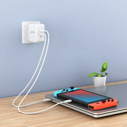 CHOETECH USB C 100W 2 Port Type C Wall Charger PD 3.0 GaN Tech Foldable Adapter $51.50