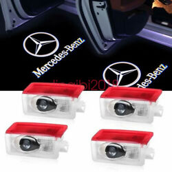 4X LED Door Courtesy logo Light Ghost Shadow Laser Projector for Mercedes-Benz $25.45