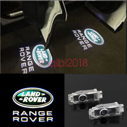 4X LED Logo door Projector light For Range Rover Sport Land Rover Discovery LR $25.20