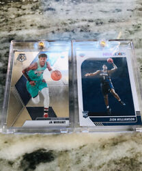 JA MORANT AND ZION WILLIAMSON ROOKIE CARD CHASE!! (4 CARDS)   *Read Description*