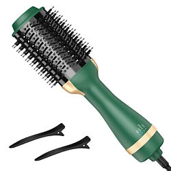 Hot Air 3in1 Hair Dryer Negative Ion One Step Styling Blower Brush StraightCurl $26.67