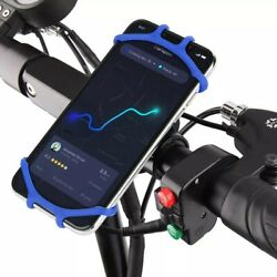Bicycle Phone Holder for IPhone 7 XS Max for Xiaomi 9 Universal Motorcycle Mobil $14.89