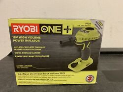 Ryobi P738 18-Volt ONE+ Cordless High Volume Power Inflator Blower (Tool Only) $25.00