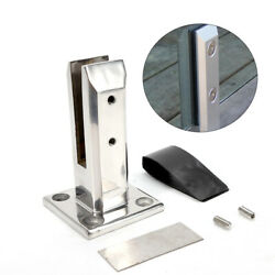 Stair Floor Glass Spigots Balcony Pool Fence Post Glass Clamps Railing Holder US $32.39