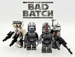 Star Wars The Bad Batch 4pcs Set Clone Force 99 $14.99