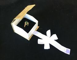 Ring Gift Boxes for Ring Gold Boxes Showcase Ring Boxes Magnetic Ribbon Box 20Pc $25.17