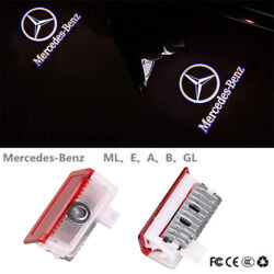2PCS Logo LED Door Courtesy Light Ghost Shadow Laser Projector for Mercedes-Benz $15.85