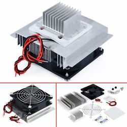DC 12V Peltier Semiconductor Refrigeration Air Conditioner System Cooler Kit US $21.99