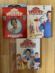 Home Improvement-Complete 1st 2nd & 3rd Seasons-Like New-Unwrapped-Never Played $24.99