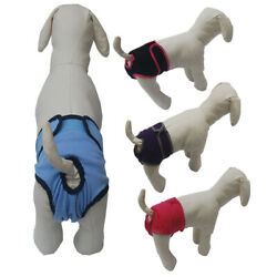 New Comfort Pet Potty Pads Training Pants Reusable Female Dog Washable Diapers $9.69