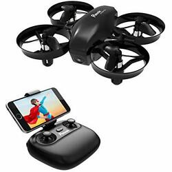 Potensic Mini Drone for Kids with Camera, RC Portable Quadcopter 2.4G 6 Axis-Alt $35.57