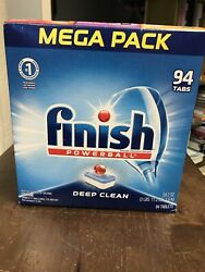 Finish - All in 1 - 94ct - Dishwasher Detergent - Powerball -Dishwashing Tablets $21.20