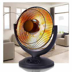 Electric Parabolic Oscillating Infrared Radiant Space Heater WTimer Home office $59.95