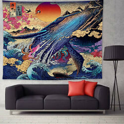 Psychedelic Printing Background Cloth Painting Wall Hanging Home Decor Tapestry $15.62