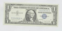 Crisp - 1957-A United States Dollar Currency $1.00 Silver Certificate *077 $3.25