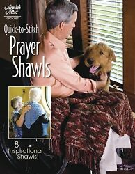 Quick-to-stitch Prayer Shawls Annies Attic: Crochet  Good Book $8.99